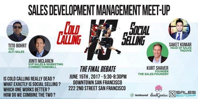 6/15 – Cold Calling Vs. Social Selling SF Meetup