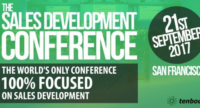 Join The Sales Development Conference: Sept 21st In SF