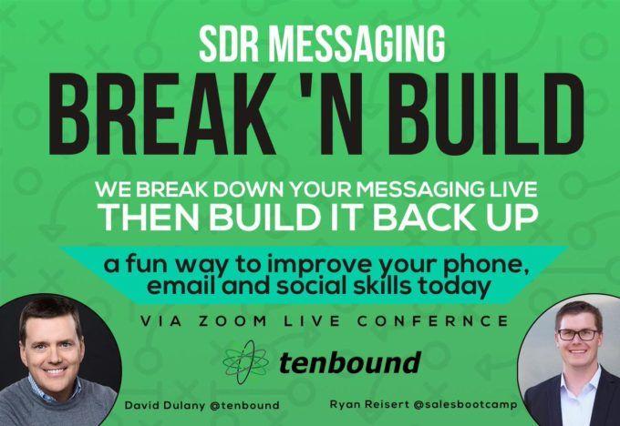 SDR Messaging Break 'N Build Recording