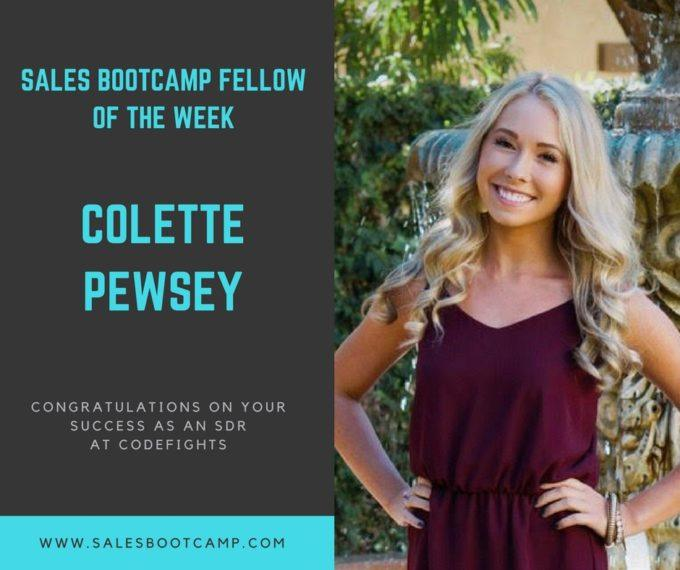 Fellow Of The Week: Colette Pewsey
