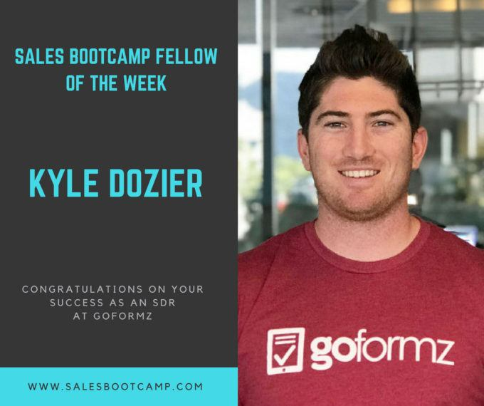 Fellow Of The Week: Kyle Dozier
