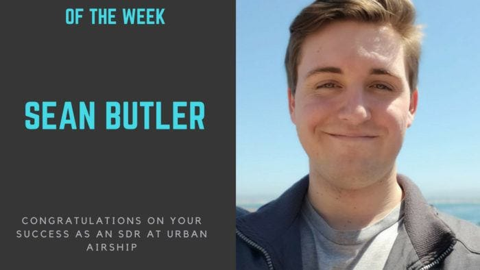 sales bootcamp fellow of the week 1