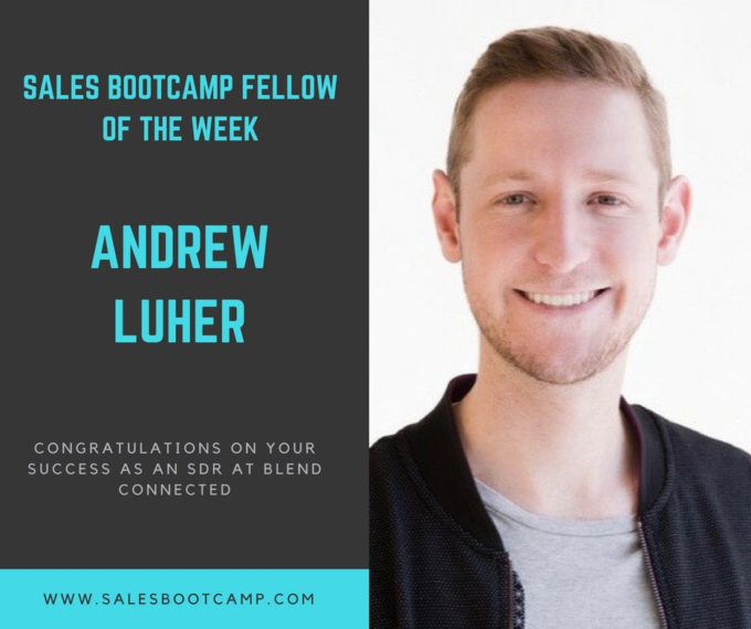 Fellow Of The Week: Andrew Luher