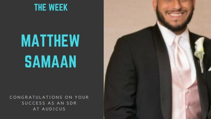 apprentice of the week