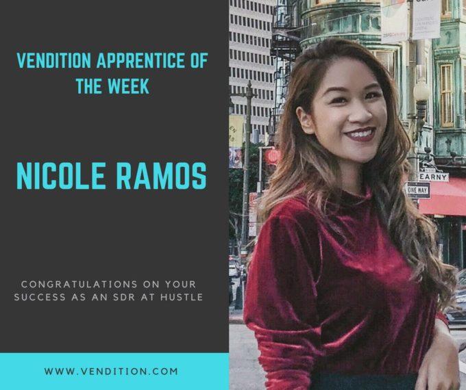 Apprentice Of The Week: Nicole Ramos