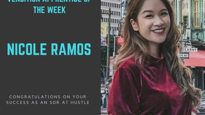 sales bootcamp fellow of the week 5