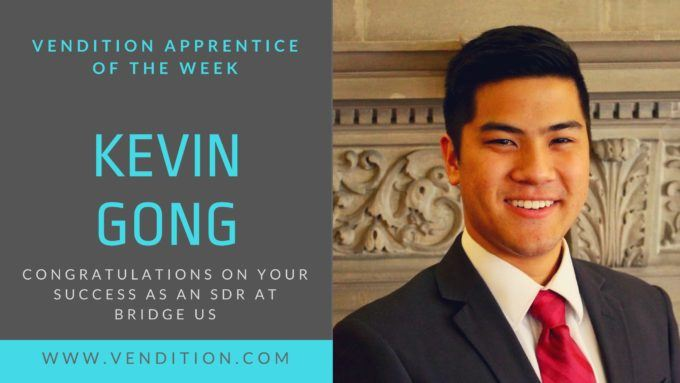 Apprentice Of The Week: Kevin Gong