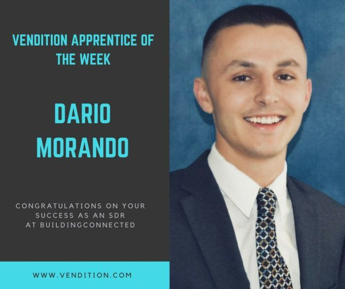 Apprentice Of The Week: Dario Morando