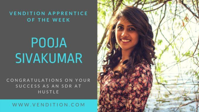 Apprentice Of The Week: Pooja Sivakumar