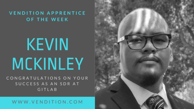 Apprentice Of The Week: Kevin McKinley