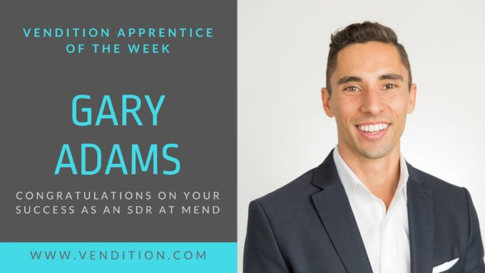 Apprentice Of The Week: Gary Adams