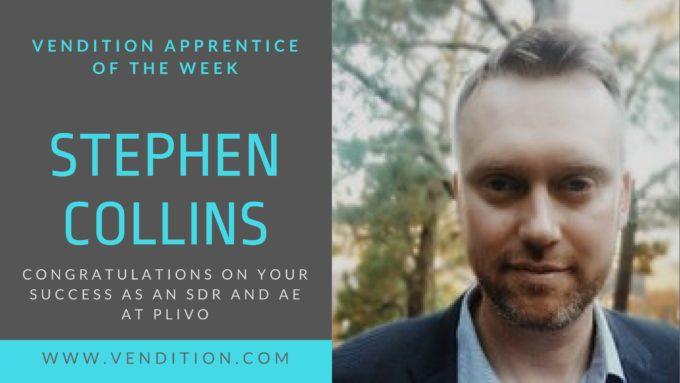 Apprentice Of The Week: Stephen Collins