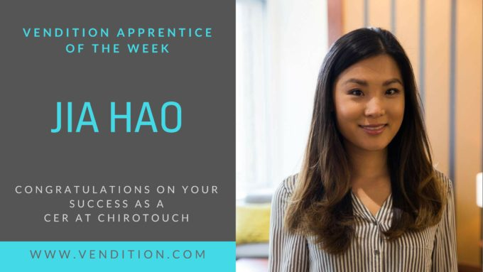 Apprentice Of The Week: Jia Hao