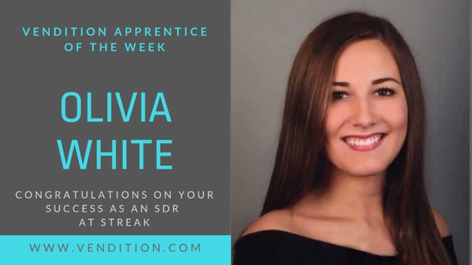Apprentice Of The Week: Olivia White
