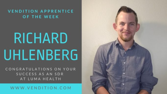 Apprentice Of The Week: Richard Uhlenberg