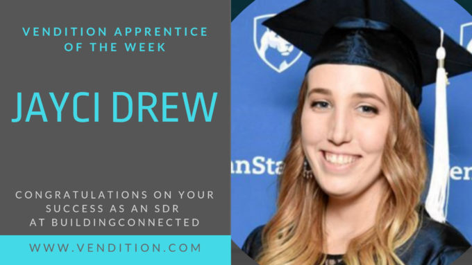 Apprentice Of The Week: Jayci Drew