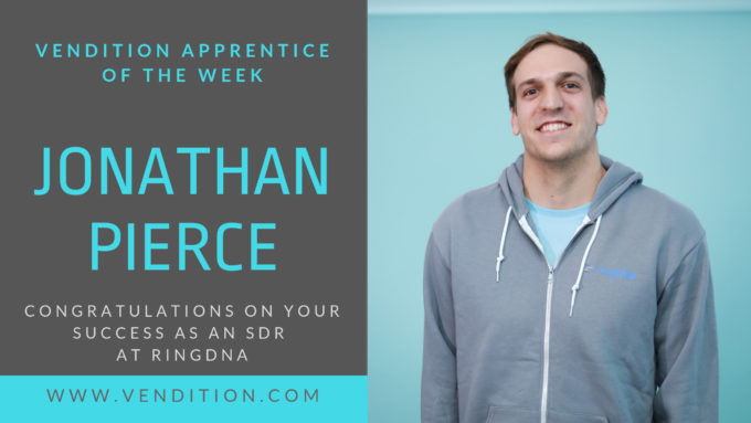Apprentice Of The Week: Jonathan Pierce