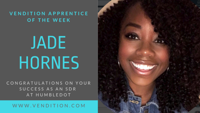 Apprentice Of The Week: Jade Hornes