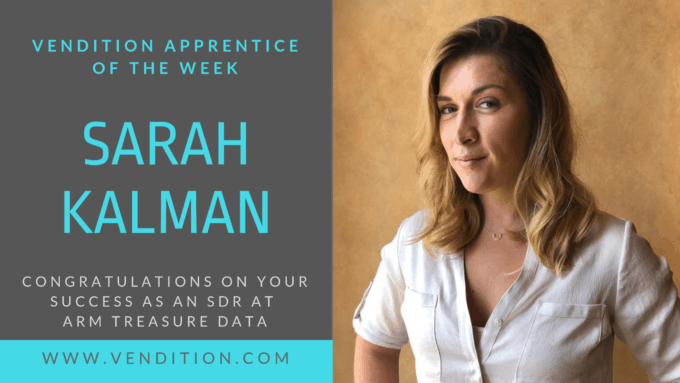 Apprentice Of The Week: Sarah Kalman
