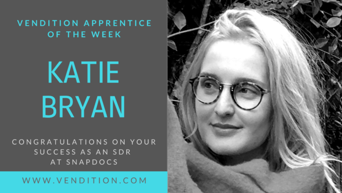 Apprentice Of The Week: Katie Bryan