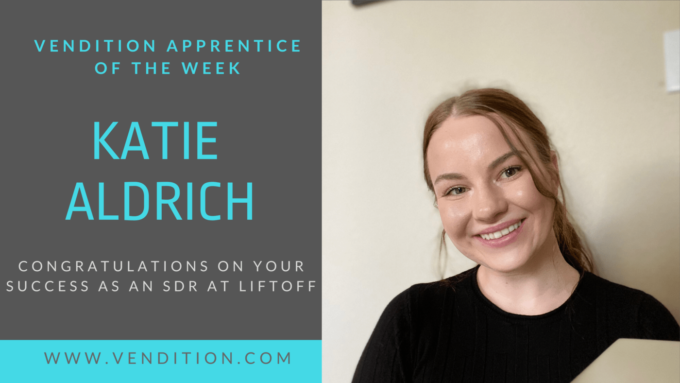 Apprentice Of The Week: Katie Aldrich