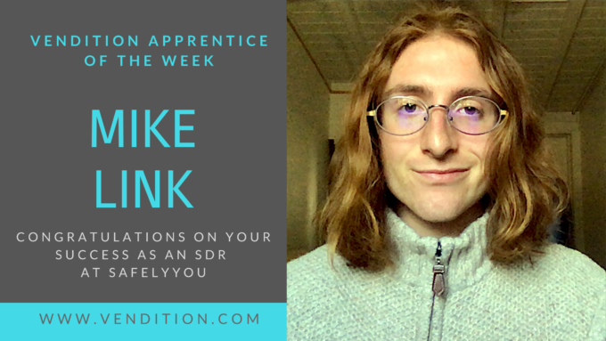 Apprentice Of The Week: Mike Link