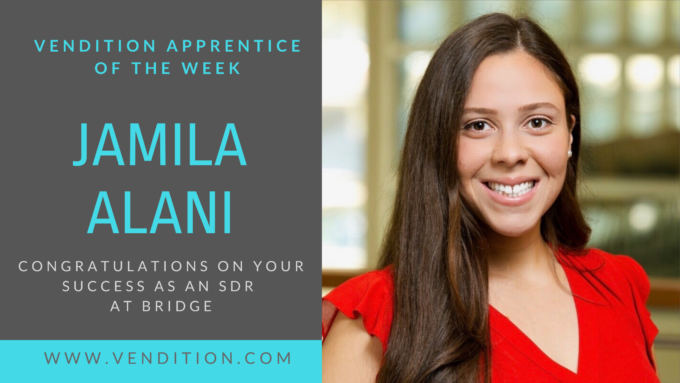 Apprentice Of The Week: Jamila Alani