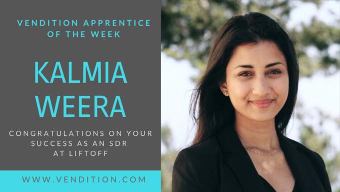 Apprentice Of The Week: Kalmia Weera