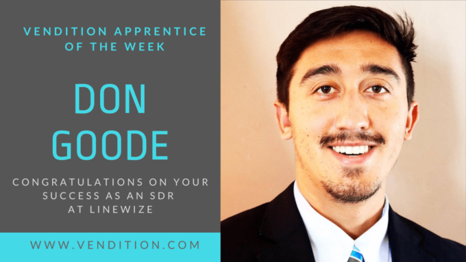 Apprentice Of The Week: Don Goode