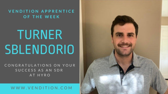 Apprentice Of The Week: Turner Sblendorio