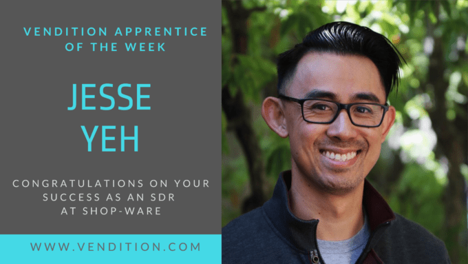 Apprentice Of The Week: Jesse Yeh