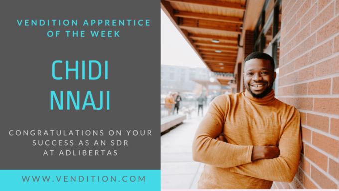 Apprentice Of The Week: Chidi Nnaji